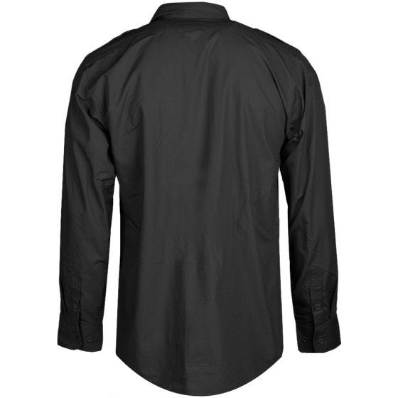 Koszula Mil-Tec RipStop Długi Rękaw Czarna