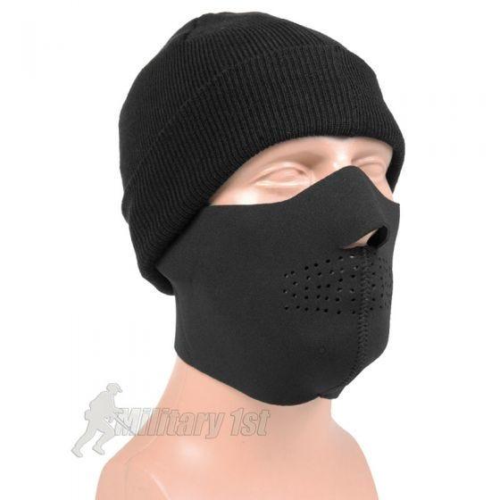 Maska Neoprenowa Mil-Tec Half Face Czarna