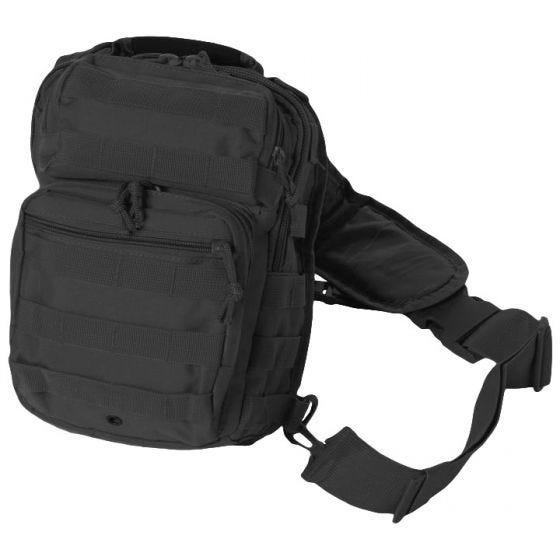 Plecak na Ramię Mil-Tec One Strap Mały Czarny