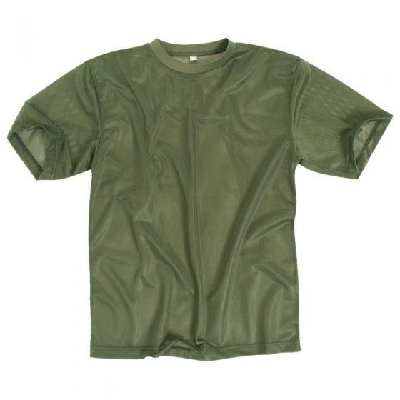 Koszulka T-shirt Mil-Tec Mesh Oliwkowa