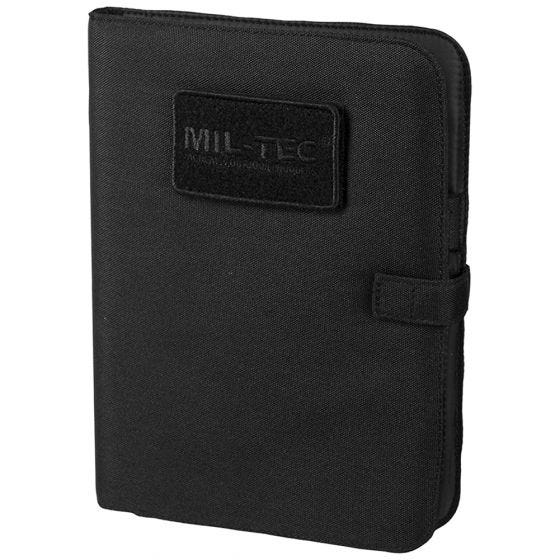 Biwuar Notatnik Taktyczny Mil-Tec Notebook Średni Czarny