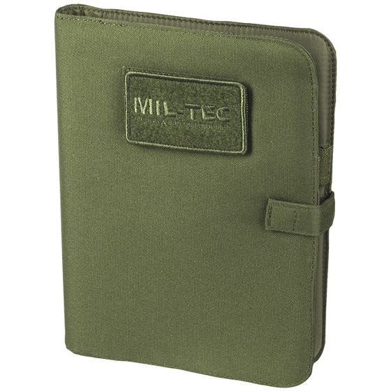 Biwuar Notatnik Taktyczny Mil-Tec Notebook Średni Oliwkowy