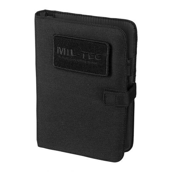 Biwuar Notatnik Taktyczny Mil-Tec Notebook Mały Czarny