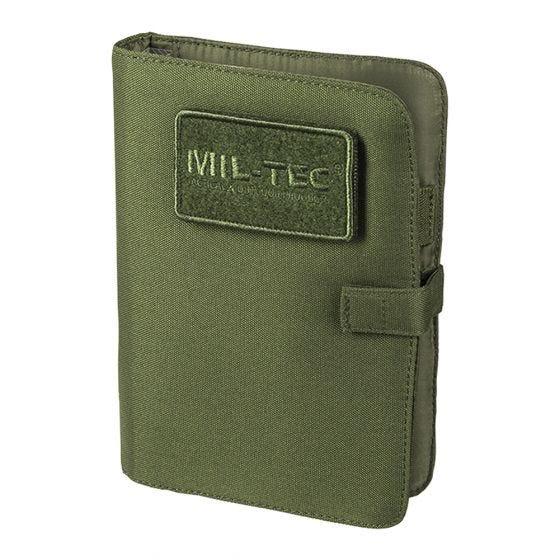 Biwuar Notatnik Taktyczny Mil-Tec Notebook Mały Oliwkowy