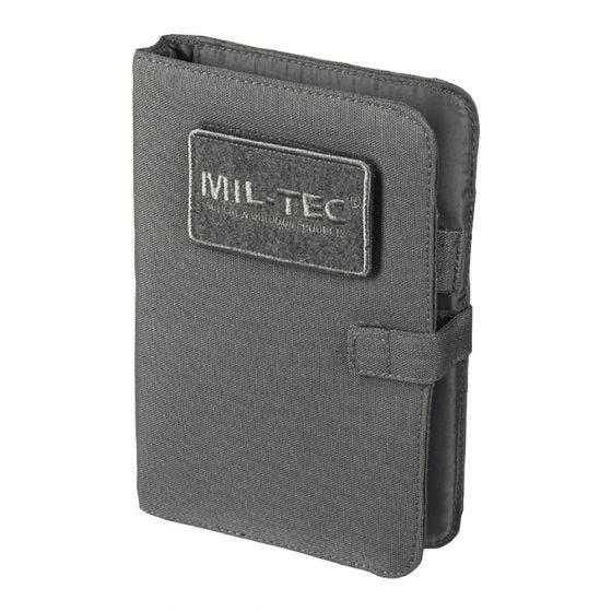 Biwuar Notatnik Taktyczny Mil-Tec Notebook Mały Urban Grey