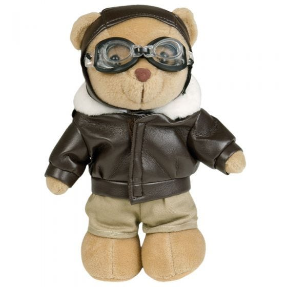 Maskotka Miś Mil-Tec Pilot