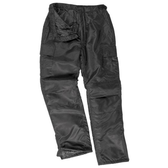 Spodnie Ocieplane Mil-Tec US MA1 Czarne