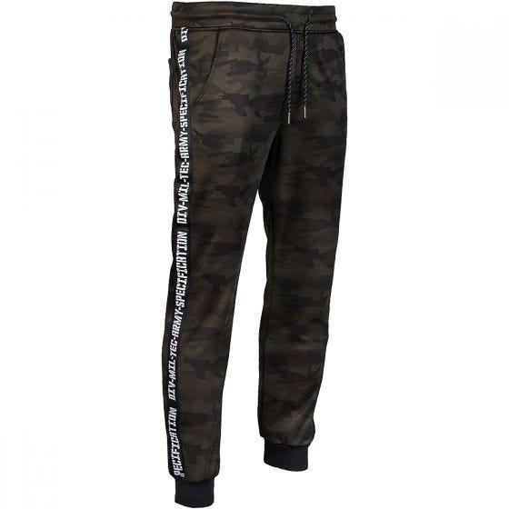 Spodnie dresowe Mil-Tec Training Woodland