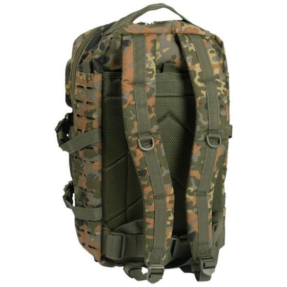 Plecak Mil-Tec US Assault Laser Duży Flecktarn