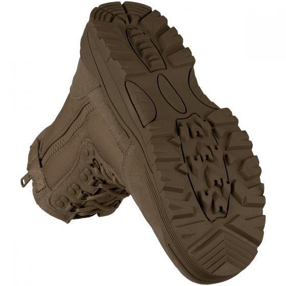 Buty Mil-Tec Tactical Side Zip Brązowe