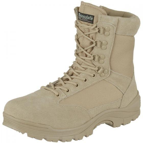 Buty Mil-Tec Tactical Side Zip Khaki