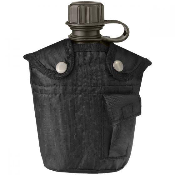 Manierka Mil-Tec z Pokrowcem 1-litrowa Czarna