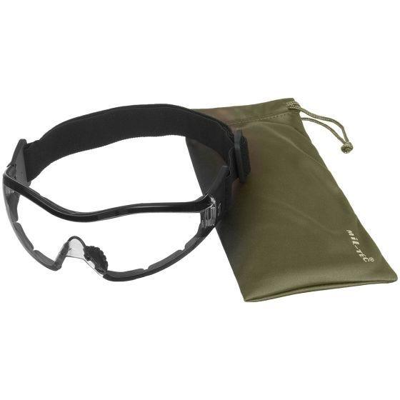 Gogle Ochronne Mil-Tec Commando Para - Clear