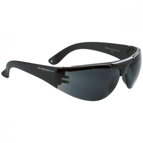 Okulary Taktyczne Swiss Eye Outbreak Protector - Smoke - Czarne