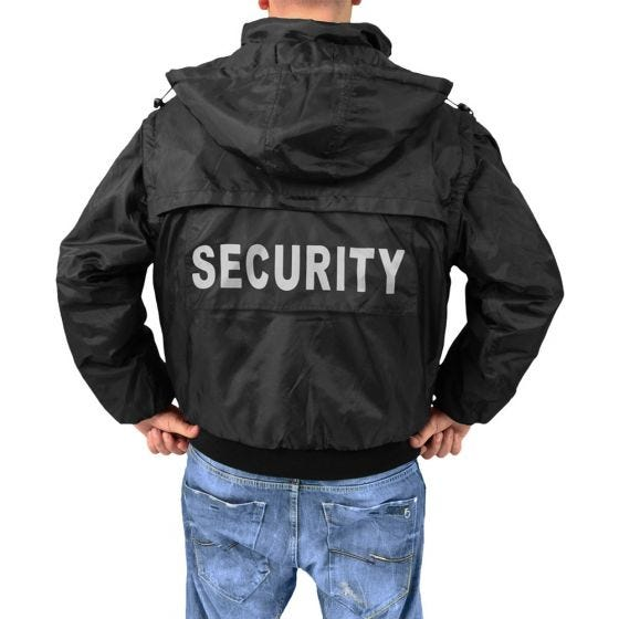 Kurtka Surplus Security 2w1 Czarna