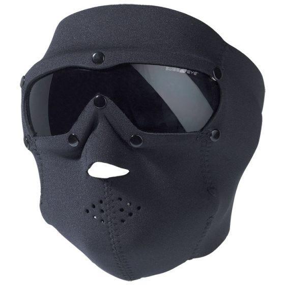 Taktyczna Maska Neoprenowa Swiss Eye z Goglami - Smoke - Czarna