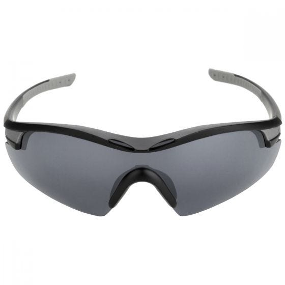 Okulary Taktyczne Swiss Eye Novena - Zestaw 3 Wymiennych Wizjerów - Czarne