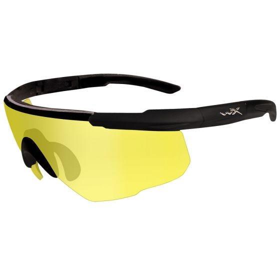 Okulary Taktyczne Wiley X Saber Advanced - Yellow - Czarne