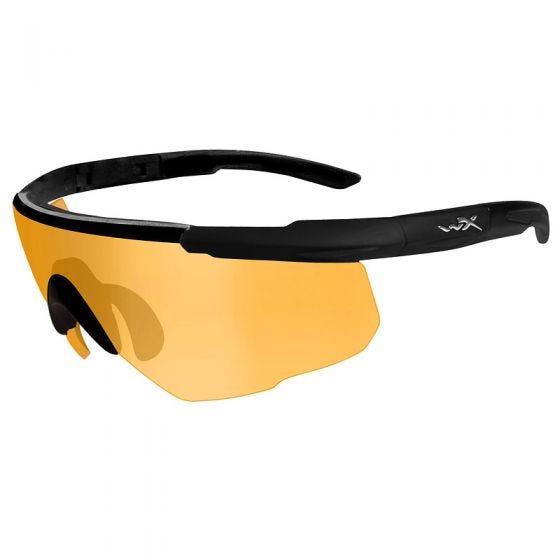 Okulary Taktyczne Wiley X Saber Advanced - Orange - Czarne