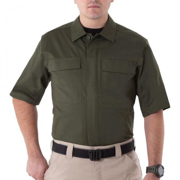 Koszula First Tactical Men's V2 Krótki Rękaw BDU OD Green