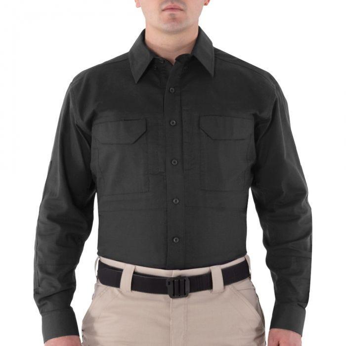 Koszula First Tactical Men's V2 Długi Rękaw Tactical Czarna