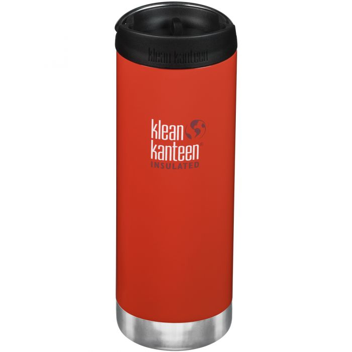Termos Klean Kanteen TKWide 473ml Cafe Cap Post Box Red