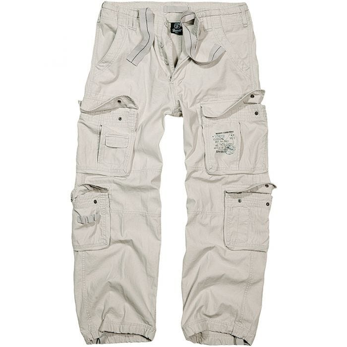 Spodnie Brandit Pure Vintage Białe