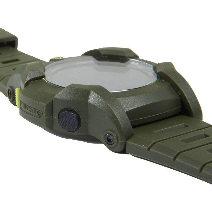 Zegarek First Tactical Canyon Digital Compass OD Green