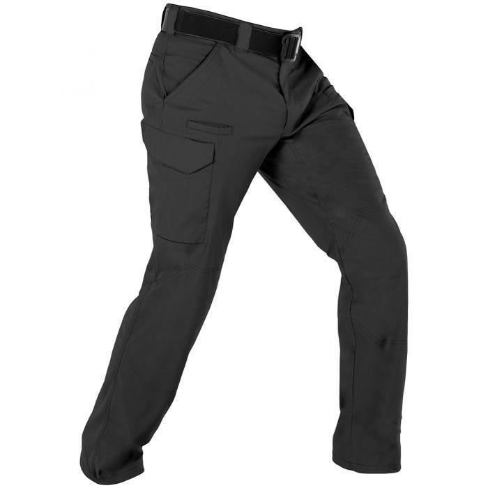 Spodnie Taktyczne First Tactical Męskie Velocity Czarne