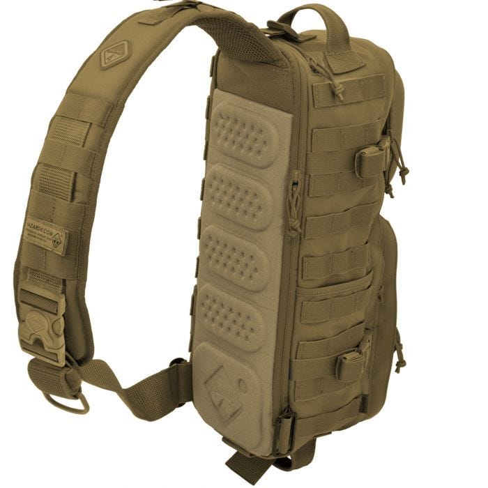 Torba Hazard 4 Evac Plan-B (v2017) Sling Pack Coyote