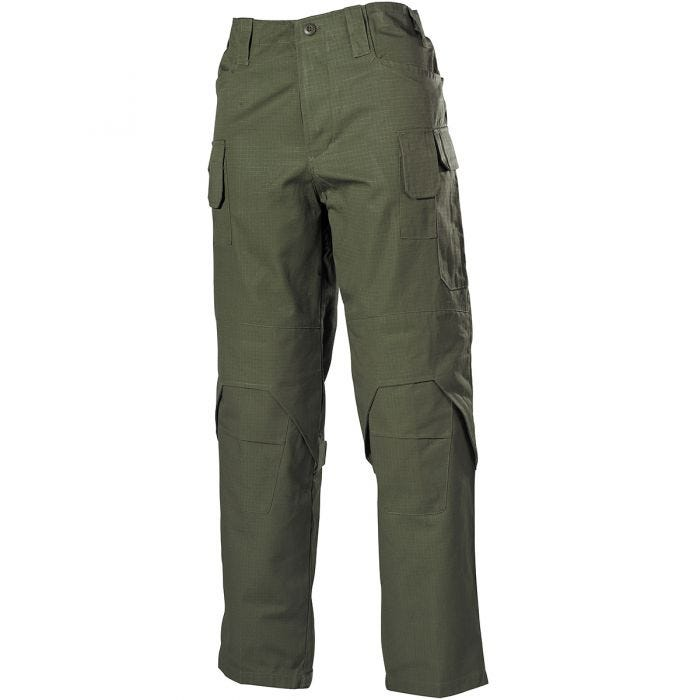 Spodnie MFH Mission Combat Ripstop OD Green