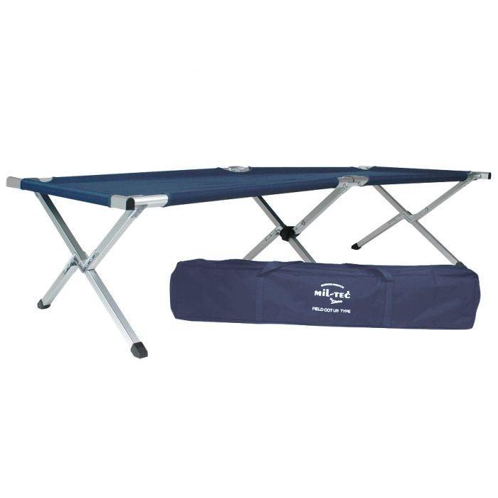 Łóżko Polowe Mil-Tec US 190x65cm Niebieskie