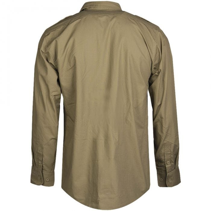 Koszula Mil-Tec RipStop Długi Rękaw Coyote
