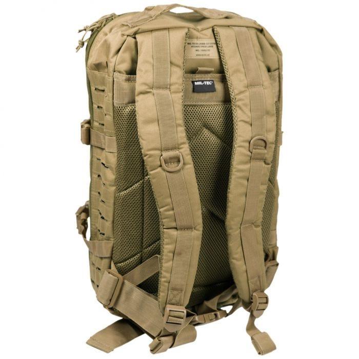 Plecak Mil-Tec US Assault Laser Duży Coyote