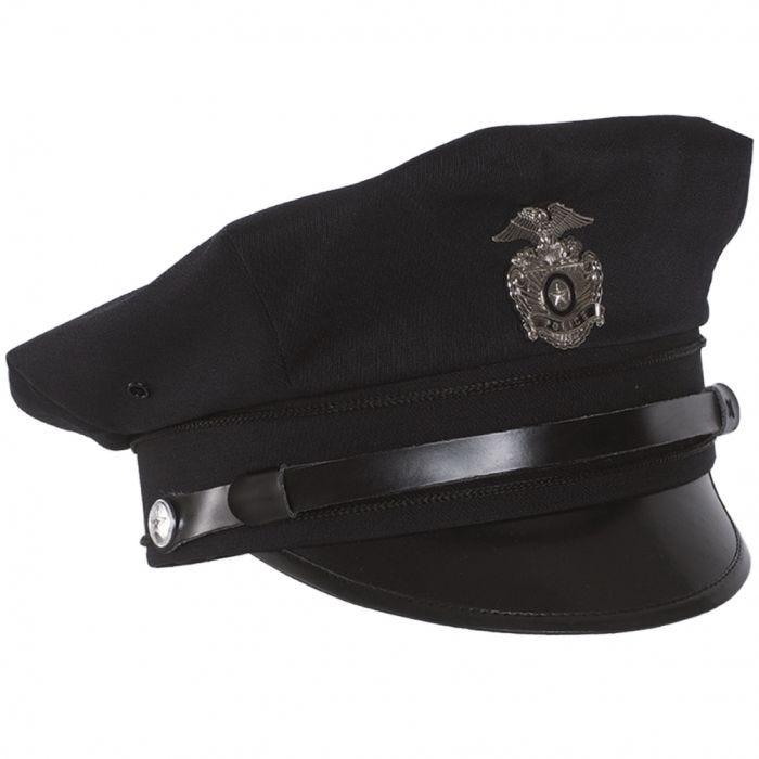 Czapka Policyjna Mil-Tec US Police Granatowa