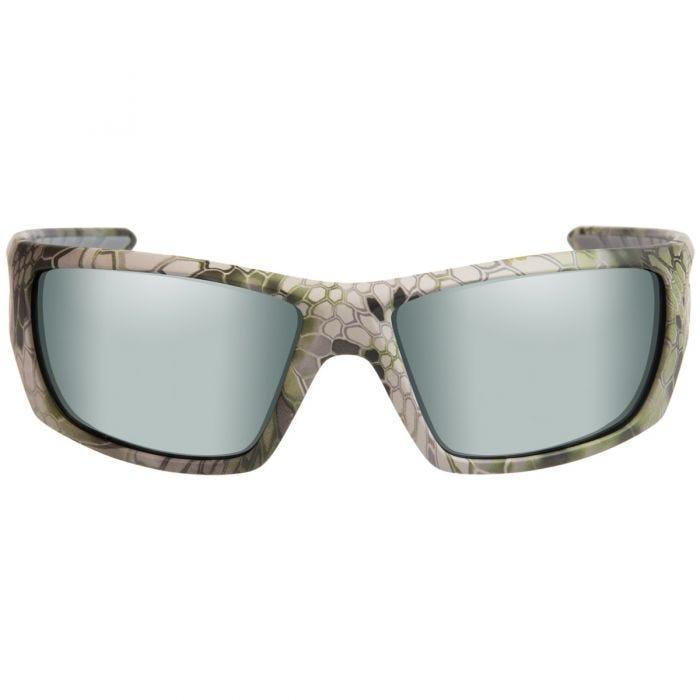 Okulary Taktyczne Wiley X WX Nash - Polarized Green Platinum Flash / Kryptek Altitude