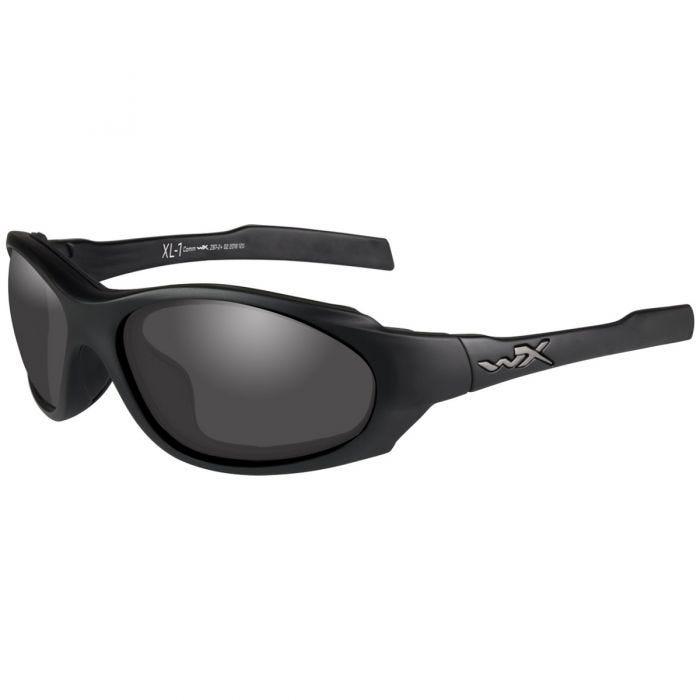 Okulary Taktyczne Wiley X XL-1 Advanced COMM - Zestaw 2 Wymiennych Wizjerów - Czarne
