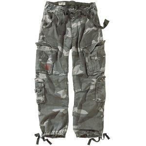 Spodnie Surplus Airborne Vintage Night Camo