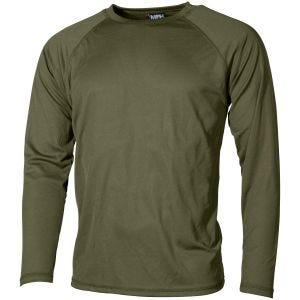 Koszulka Termoaktywna MFH US Level I Gen III OD Green