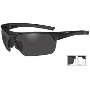 Okulary Taktyczne Wiley X Guard Advanced - Smoke + Clear - Czarne