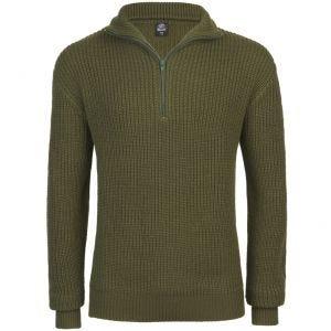 Sweter Brandit Marine Troyer Oliwkowy