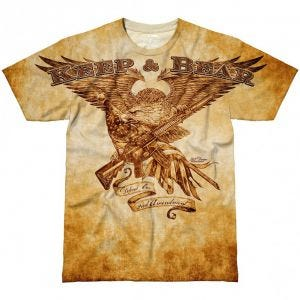 Koszulka T-shirt 7.62 Design Keep & Bear Natural