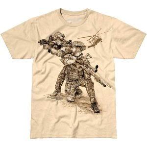 Koszulka T-shirt 7.62 Design Compromised Extract Sand
