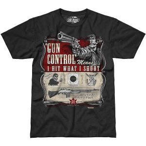 Koszulka T-shirt 7.62 Design Gun Control Czarna