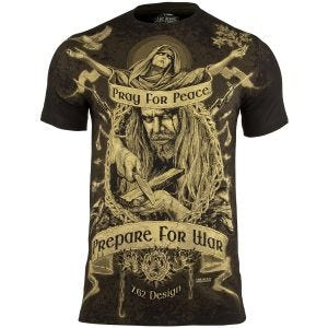 Koszulka T-shirt 7.62 Design Prepare War Czarna