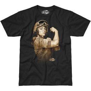 Koszulka T-shirt 7.62 Design Sergeant Sara Czarna