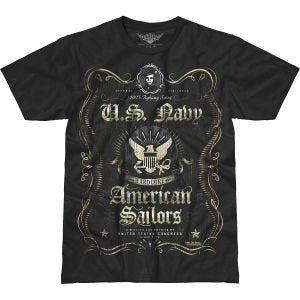 Koszulka T-shirt 7.62 Design USN Fighting Spirit Battlespace Czarna