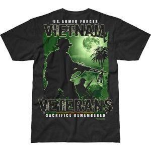 Koszulka T-shirt 7.62 Design Vietnam Veterans Remembered Battlespace Czarna