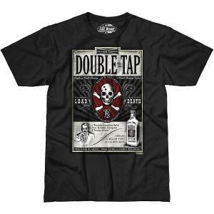 Koszulka T-shirt 7.62 Design Double Tap Czarna