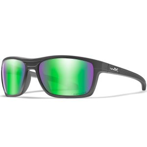Okulary Taktyczne Wiley X WX Kingpin - Captivate Polarized Green Mirror - Matte Graphite